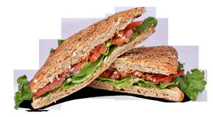 Classic BLT Panini Sandwich